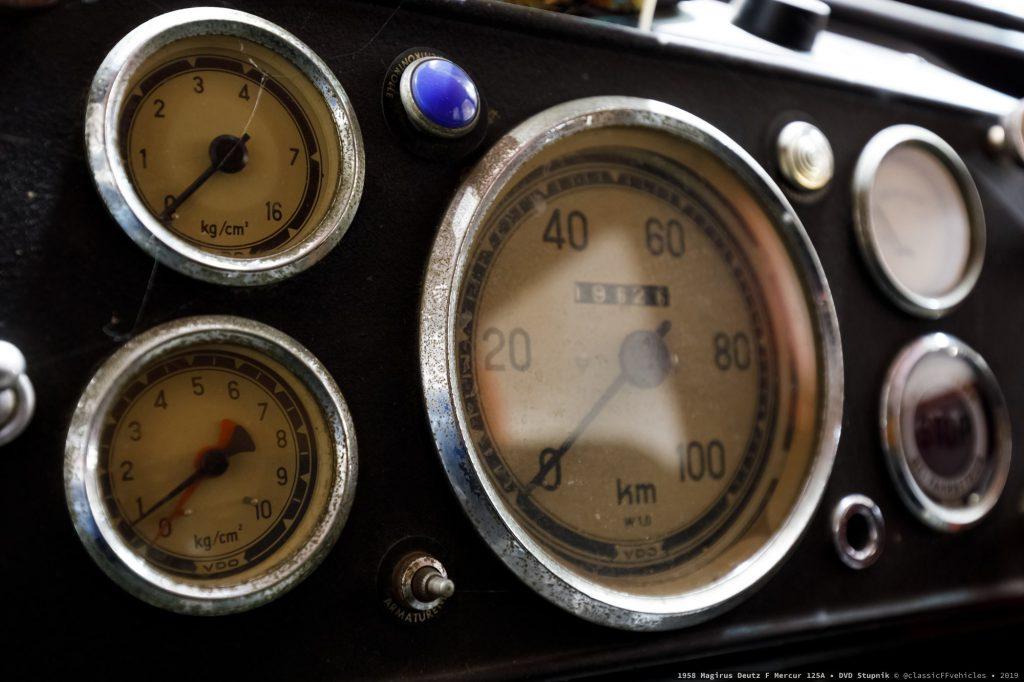 Magirus Deutz F Mercur 125A, 1958.g.