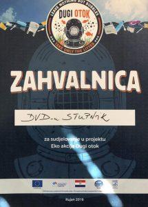 Ronioci DVD-a Stupnik u eko-akciji Dugi otok 2019.