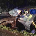 Članovi DVD-a Stupnik naišli na prometnu nezgodu