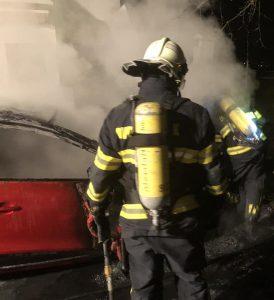 Intervencija DVD-a Stupnik - požar osobnog vozila
