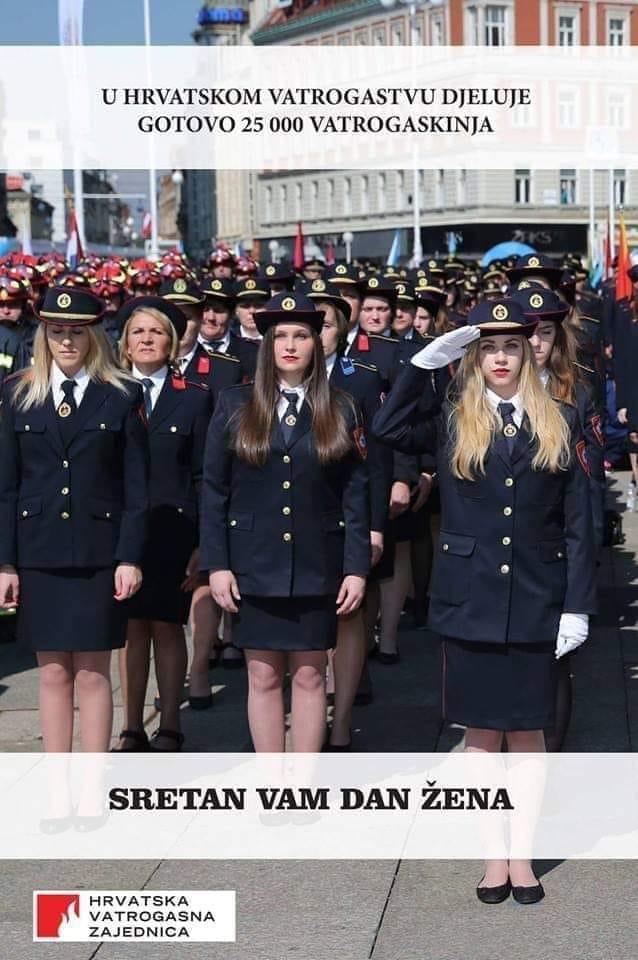 Dan žena - vatrogaskinje HVZ