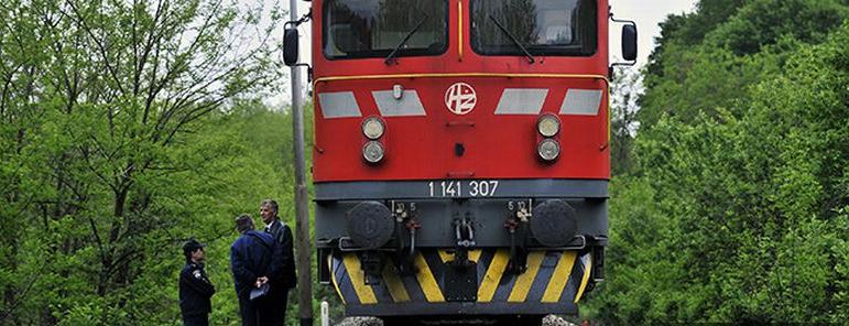 Nalet vlaka na nepoznatu osobu - DVD Stupnik