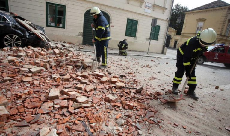 Veliki potres u Zagrebu 22.03.2020.