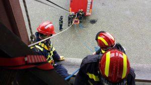 Osposobljavanje članova DVD-a Stupnik za spašavanje iz dubina i s visina - II stupanj