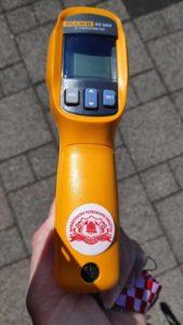 Laserski termometar za mjerenje temperature