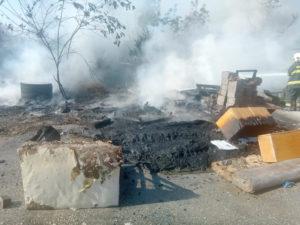 Požar uslijed (prijavljenog) spaljivanja