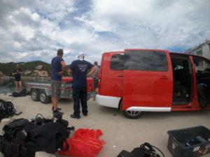 Eko akcija čišćenja podmorja u Zaglavu, Dugi otok