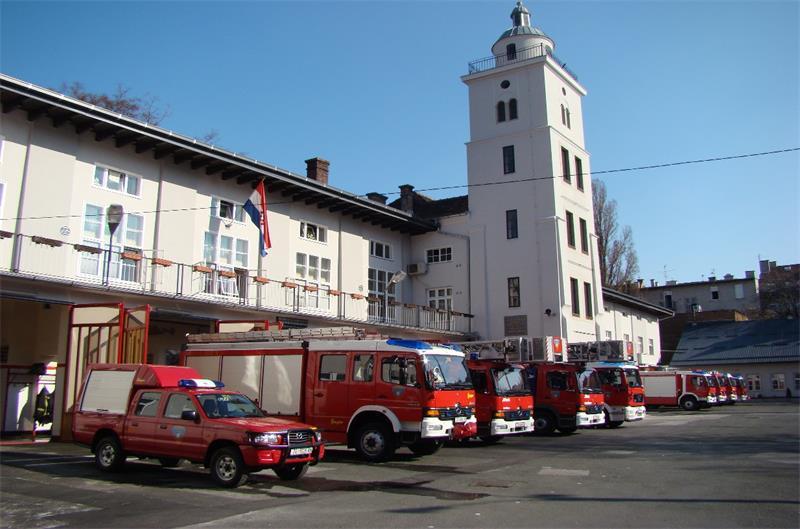 """""""Gasni vlak"""" JVP Grada Zagreba"""