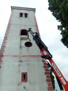 Povijesno postavljanje zvona u kapelicu Sv. Benedikta u Stupniku