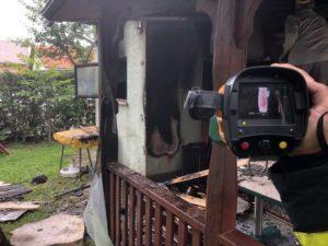 DVD Stupnik na požaru pomoćnog objekta u ulici Botinka, Stupnik