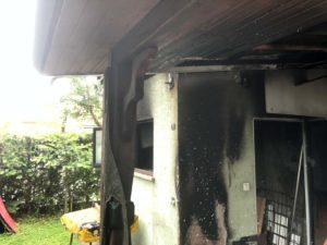 Požar pomoćnog objekta u ulici Botinka, Stupnik