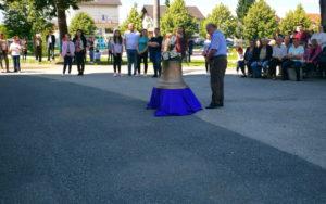 Blagoslov zvona za kapelicu Sv. Benedikta u Stupniku