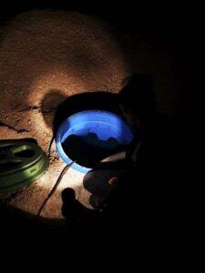 Ispumpavanje spremnika za navodnjavanje