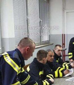 Na intervenciji preminuo kolega Davor Kovačić