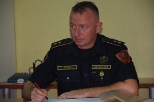 Vatrogasac godine DVD-a Stupnik - zapovjednik Josip Vađić
