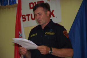 Predsjednik DVD-a Stupnik Igor Klemenčić