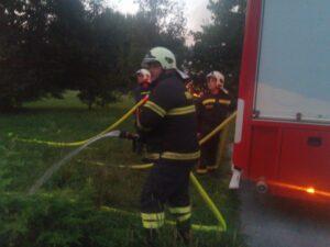 Osiguranje pri spaljivanju granja i biljnog otpada LD Sokol Stupnik