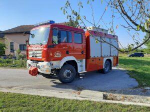 Požar električnih instalacija kuće u Selištu - DVD Stupnik 28.08.2020.