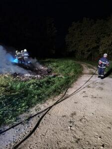 Požar drvene građe i otpada (Japjeci)