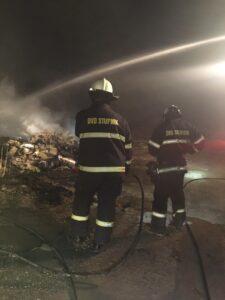 Požar građevinskog otpada