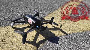 Vježba upravljanja dronom za Operativnu postrojbu DVD-a Stupnik